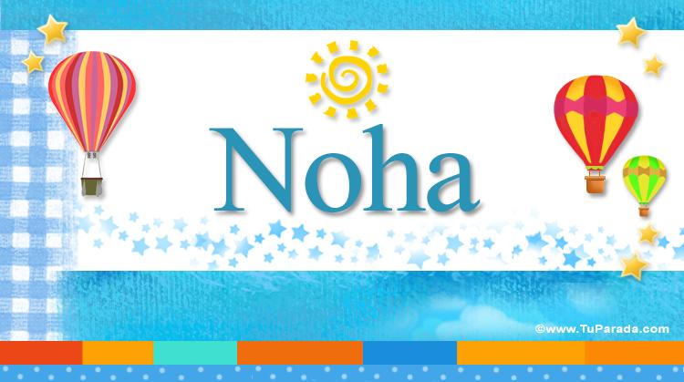 Noha, imagen de Noha
