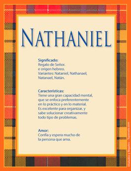 Nombre Nathaniel