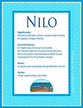 Nombre Nilo