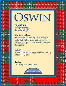 Nombre Oswin