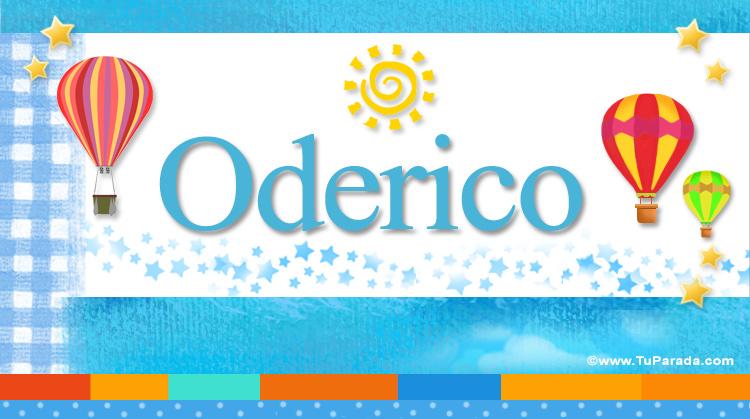 Oderico, imagen de Oderico