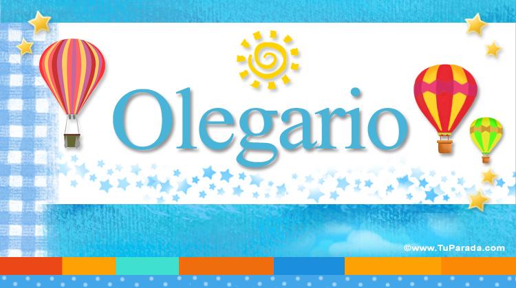 Olegario, imagen de Olegario