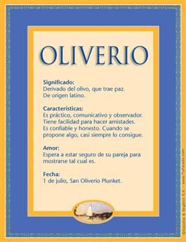 Nombre Oliverio