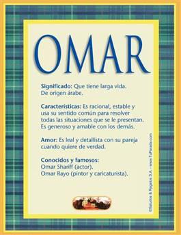 Nombre Omar