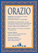 Nombre Orazio