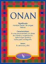 Nombre Onan