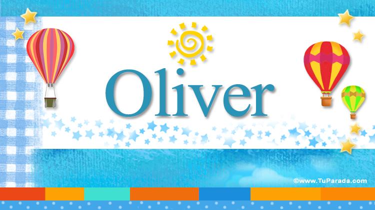 Oliver, imagen de Oliver