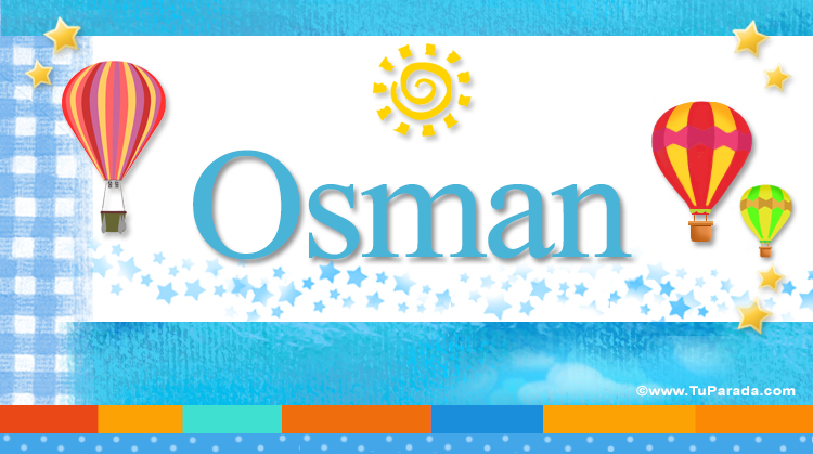 Osman, imagen de Osman