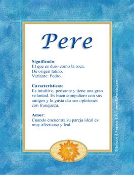 Nombre Pere