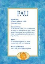 Nombre Pau
