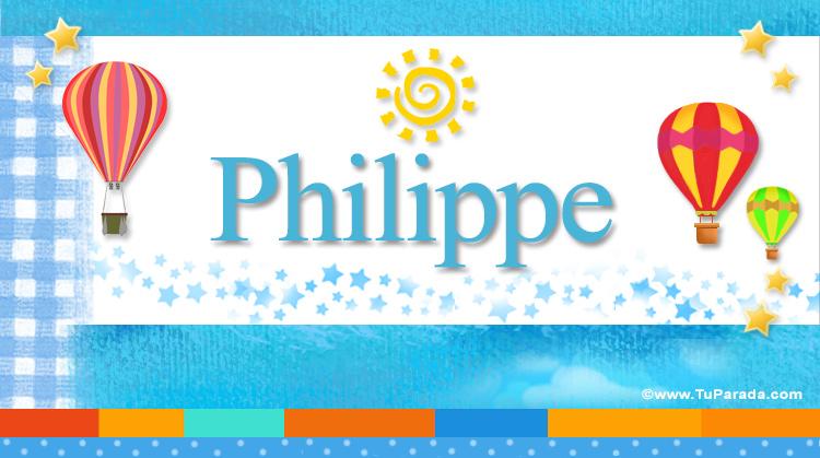 Philippe, imagen de Philippe