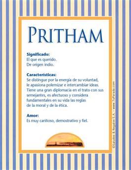 Nombre Pritham