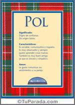 Nombre Pol