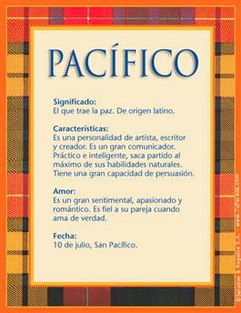 Nombre Pacífico