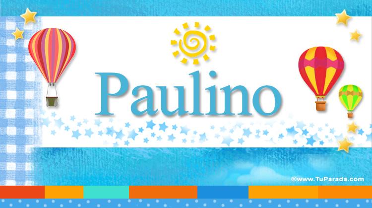 Paulino, imagen de Paulino