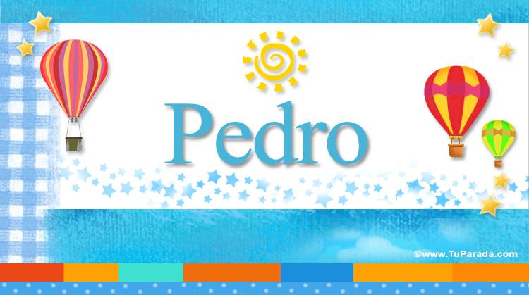 Pedro, imagen de Pedro