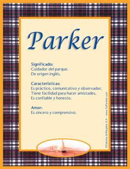 Nombre Parker