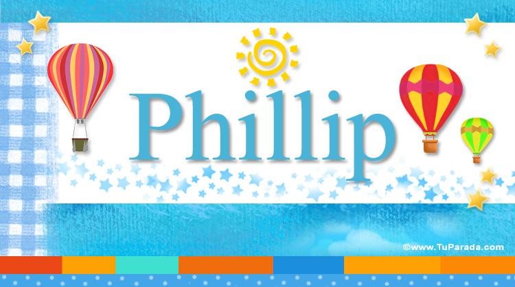 Phillip, imagen de Phillip