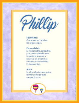 Nombre Phillip