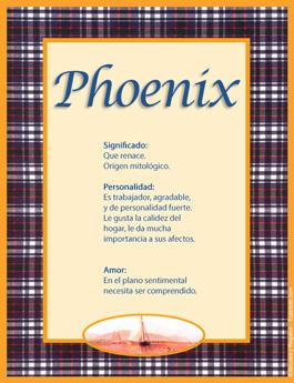 Nombre Phoenix