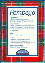 Nombre Pompeyo