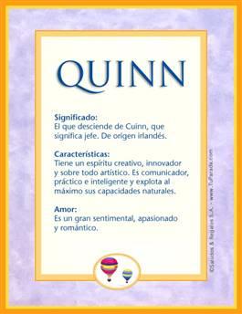 Nombre Quinn