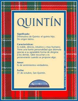 Nombre Quintín