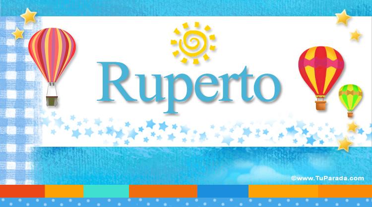 Ruperto, imagen de Ruperto