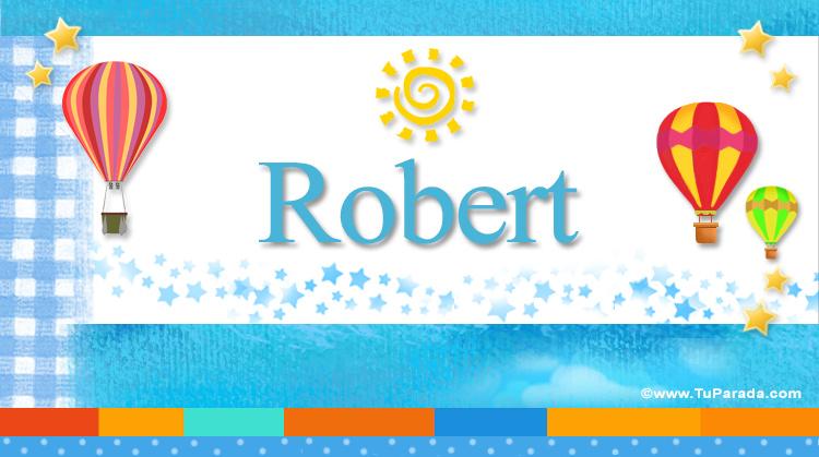 Robert, imagen de Robert