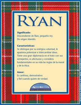 Nombre Ryan