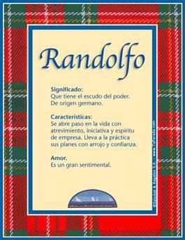 Nombre Randolfo