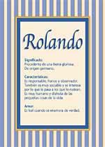 Nombre Rolando