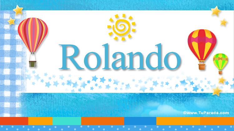 Rolando, imagen de Rolando