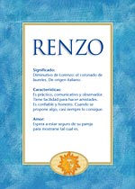Nombre Renzo