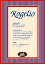 Nombre Rogelio