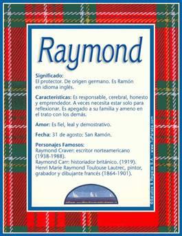 Nombre Raymond
