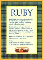Nombre Ruby