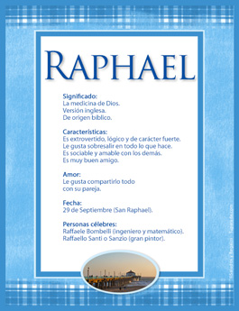 Nombre Raphael