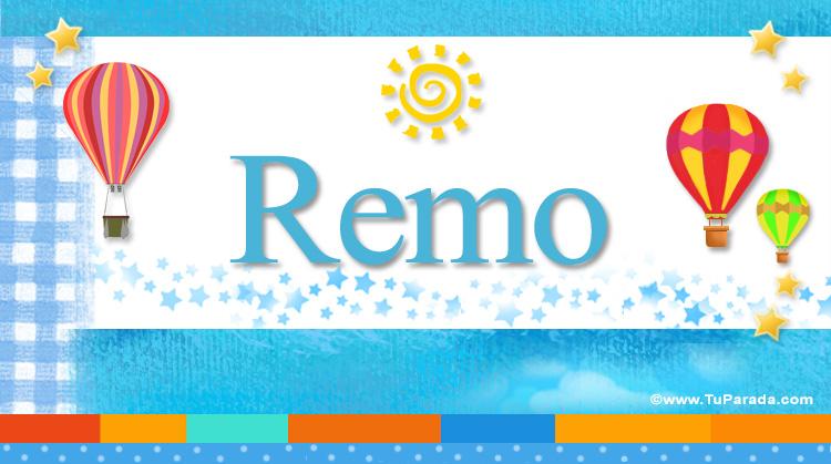 Remo, imagen de Remo