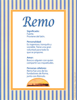 Nombre Remo