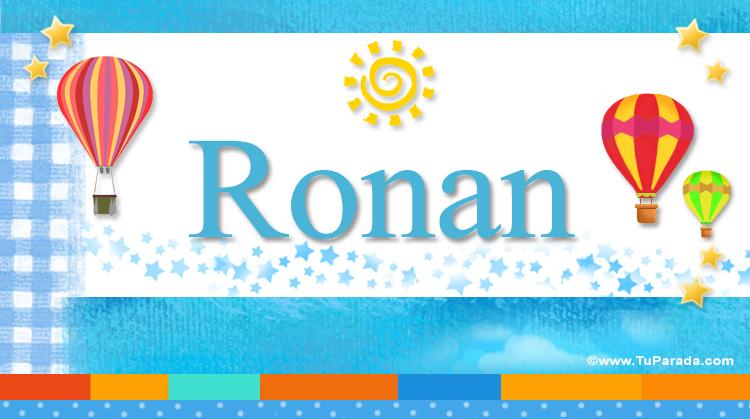 Ronan, imagen de Ronan
