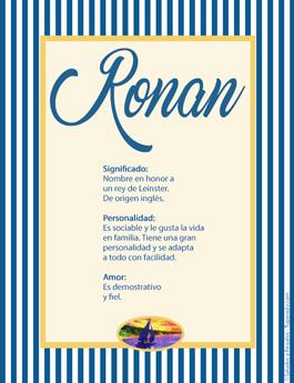 Nombre Ronan