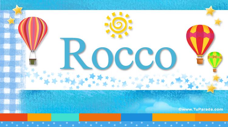 Rocco, imagen de Rocco