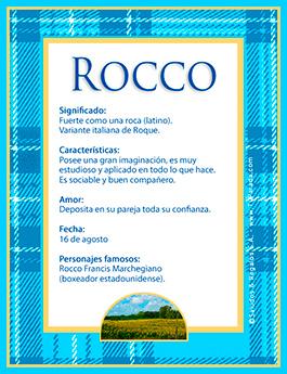 Nombre Rocco