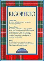 Nombre Rigoberto