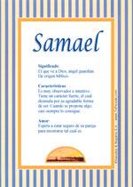 Nombre Samael
