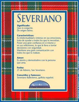 Nombre Severiano