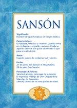 Nombre Sansón