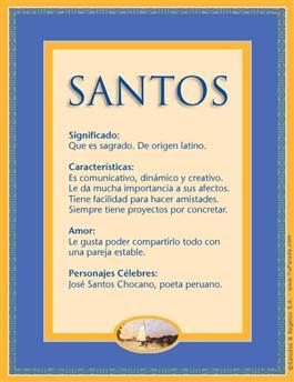 Nombre Santos