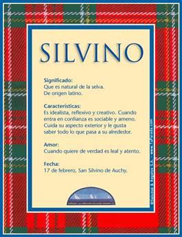 Nombre Silvino